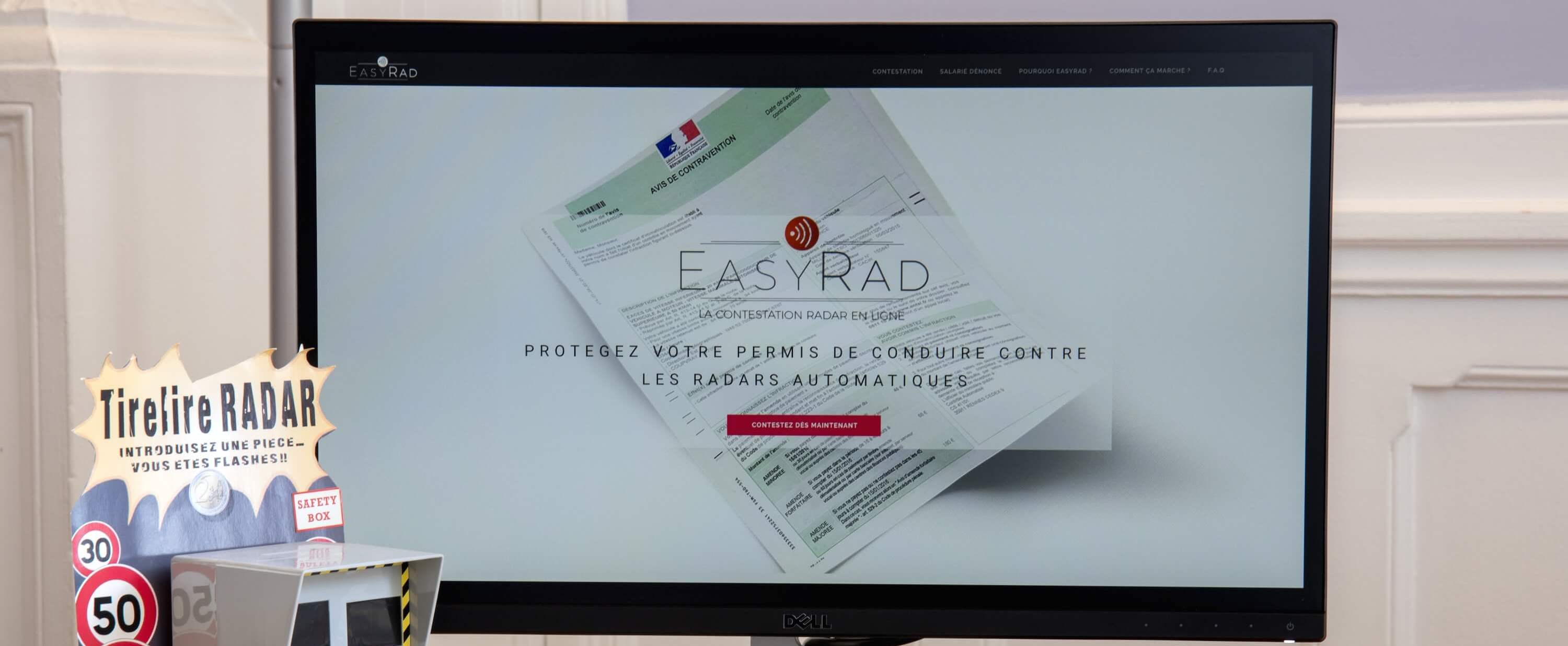 EasyRad contestations infractions PV