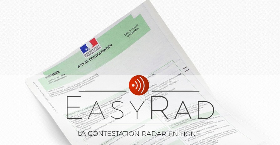 EasyRad contester amende radar